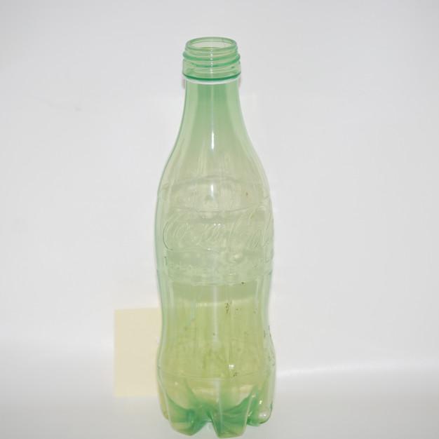 ~1970s - Experimental Green Plastic Bottle