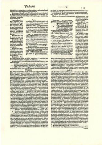 Italian Incunabula Bible - 1495