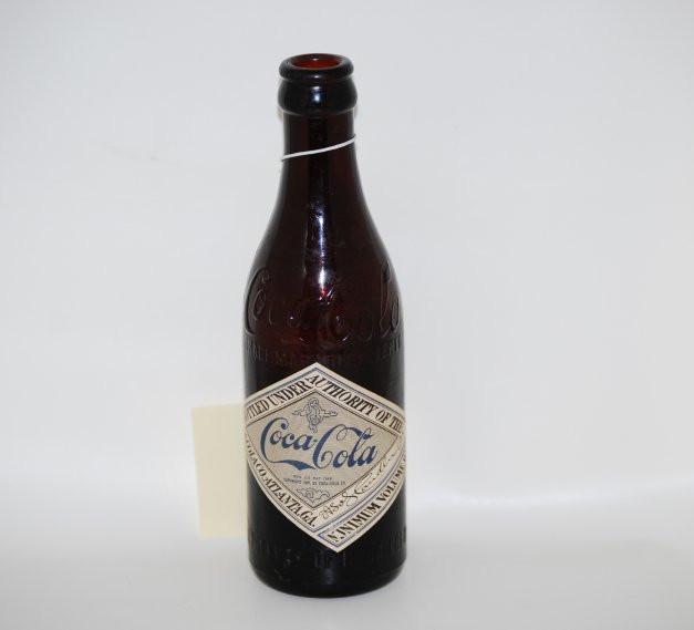 ~1899/1900 - Straight-Sided Amber Bottle