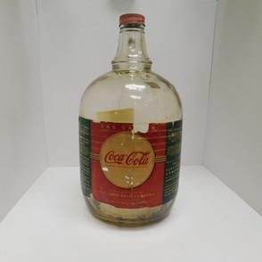 """1941 - Coca Cola Syrup Jug """"Moon"""" Label"""