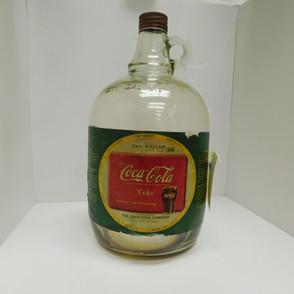 """1944 - Green Coca-Cola """"Coke"""" Syrup Jug"""