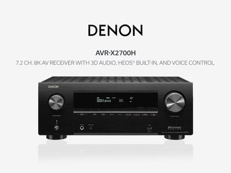 Denon X Series 8k Receivers