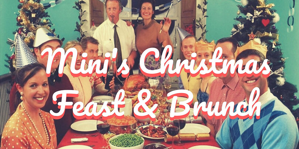 Christmas Buffet! Brunch & Dinner. 15 p.p with drink!