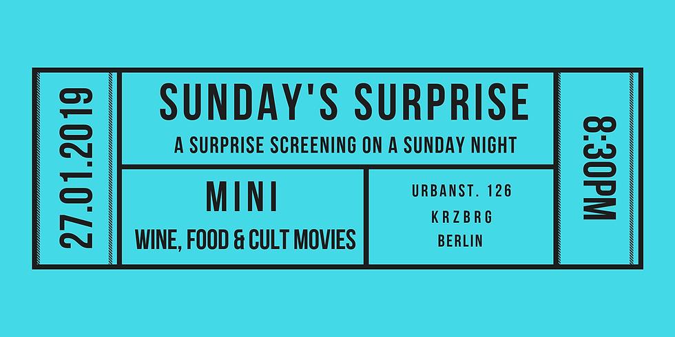Movie night: Sunday's surprise