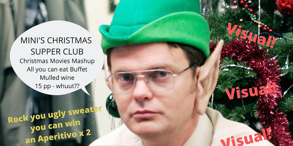 Mini Supper Club #4 - Christmas movies Mashup!