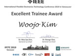 [Awards] Woojo Kim has received 'Excellent Trainee Award'