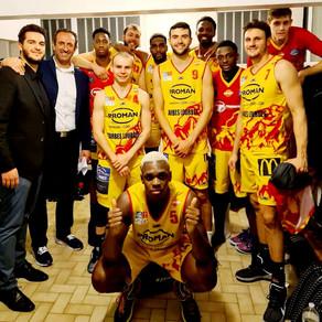 Union Tarbes Lourdes Win away @ Les Sables Vendée Basket.