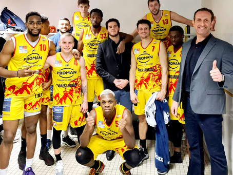 3rd win in 4 games : DAX 68-Union 84