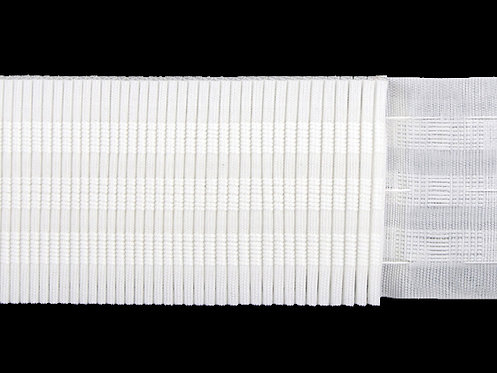 3173 Continuous Pleats Curtain Tapes / White