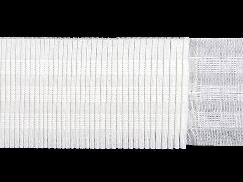 3173 - Devamlı Büzgü Şeridi / Beyaz