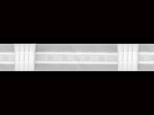 3026 4 Pile Perde Büzgü Şeridi / Beyaz