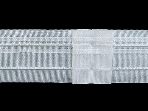 4290 Box Pleats Curtain Tapes / White