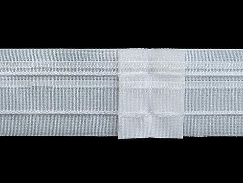 4290 - Kutu Pile Büzgü Şeridi / Beyaz