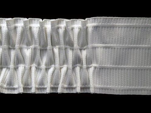 3843 Nest Pleats Curtain Tapes / White