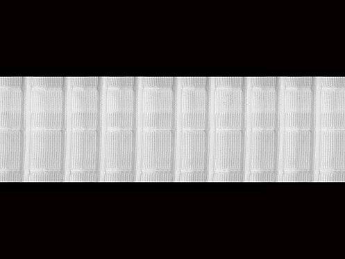 3567 Tekli Pile Büzgü Şeridi / Beyaz