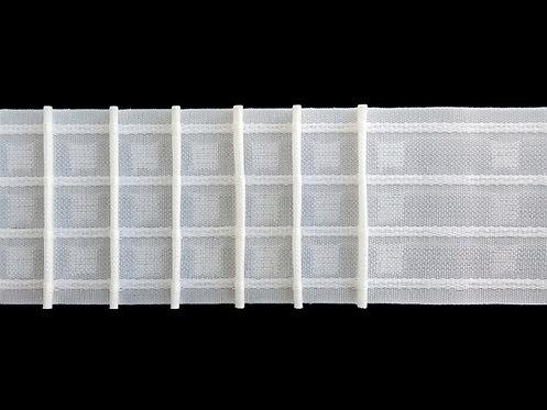 3960P - Tekli Pile Büzgü Şeridi / Beyaz