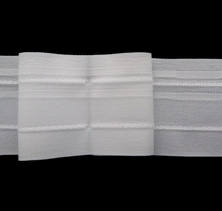 4299 Box Pleats Curtain Tapes / White