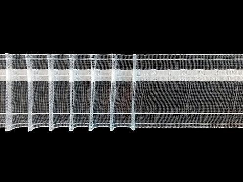 3373M - Tekli Pile Büzgü Şeridi / Şeffaf