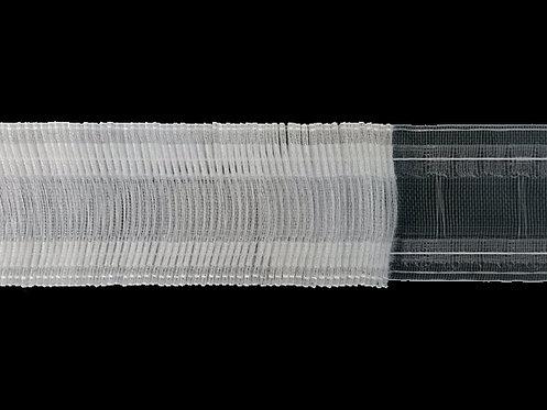 3372M Continuous Pleats Curtain Tapes / Transparent