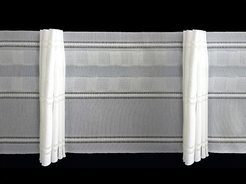 3585 - 7 Pleats Curtain Tapes / White