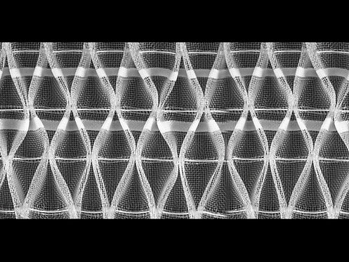2898M Nest Pleats Curtain Tapes / Transparent