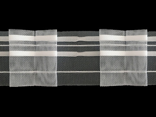3093M Box Pleats Curtain Tapes / Transparent