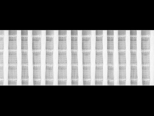 3295 Tekli Pile Büzgü Şeridi / Beyaz