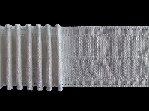 4266 - Tekli Pile Büzgü Şeridi / Beyaz