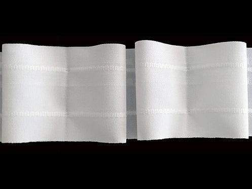 3860 - Kutu Pile Büzgü Şeridi / Beyaz