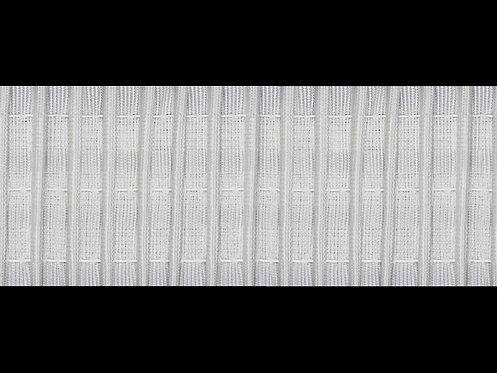 3239 Continuous Pleats Curtain Tapes / White