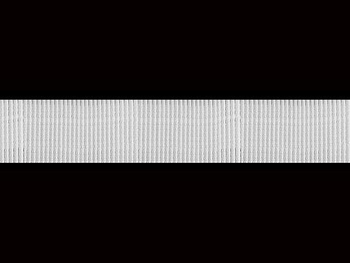 3521 Devamlı Büzgü Şeridi / Beyaz