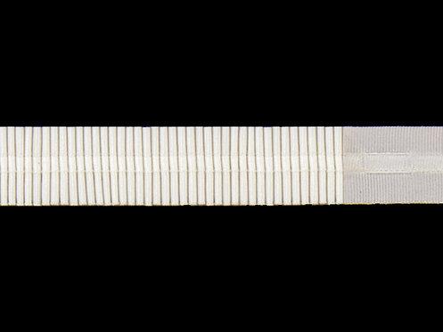 2360 - Devamlı Büzgü Şeridi / Beyaz