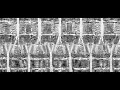 3948MP Cross Pleats Curtain Tapes / Transparent