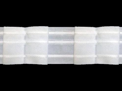 3439 - Kutu Pile Büzgü Şeridi / Beyaz