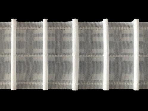 3951P - Tekli Pile Büzgü Şeridi / Beyaz
