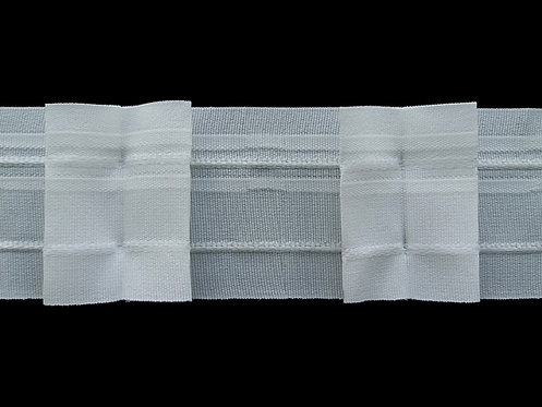 4289 Box Pleats Curtain Tapes / White