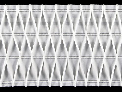 4141 - Petek İşkembe Büzgü Şeridi / Beyaz