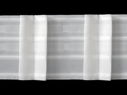 3264 - Kutu Pile Büzgü Şeridi / Beyaz