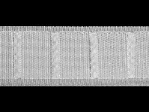 3270K Dikey Büzgü Şeridi / Beyaz