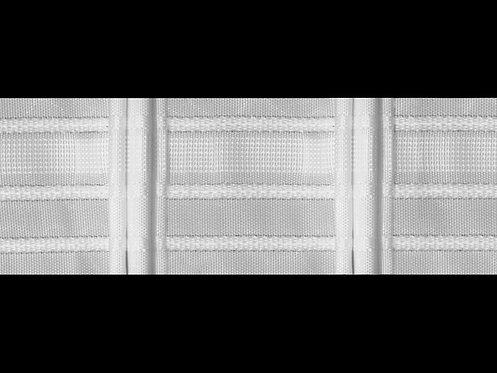 3307 3 Pile Büzgü Şeridi / Beyaz