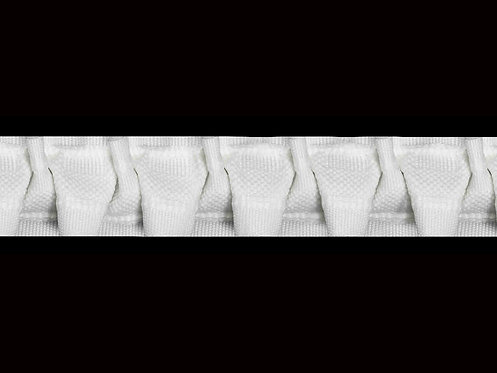 3330 Cross Pleats Curtain Tapes / White