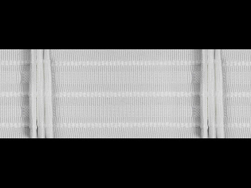 3522 - 3 Pleats Curtain Tapes / White
