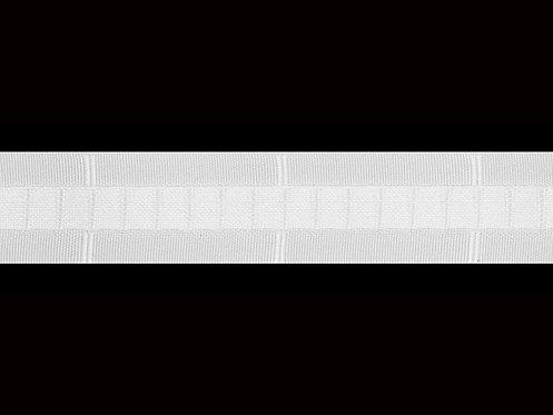 3335 Dikey Büzgü Şeridi / Beyaz