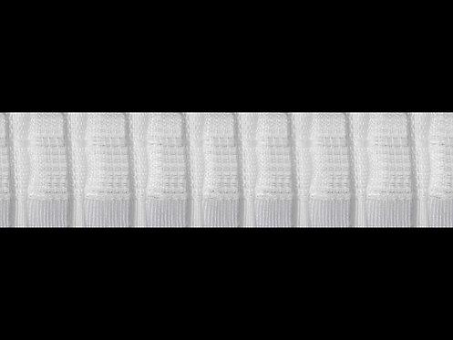 3479 Tekli Pile Büzgü Şeridi / Beyaz