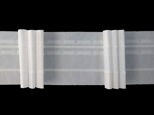 2152 - 3 Pleats Curtain Tapes / White