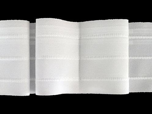 3414 - Kutu Pile Büzgü Şeridi / Beyaz