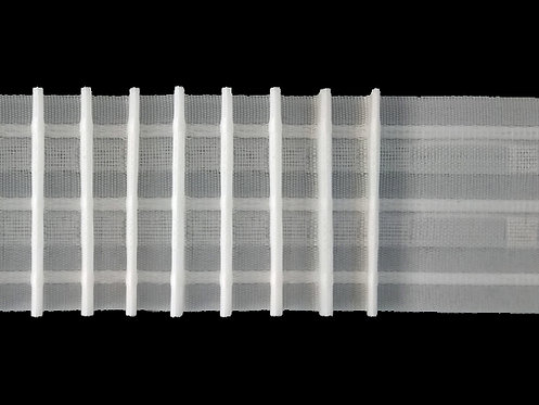 2967 Pencil Pleats Curtain Tapes / White