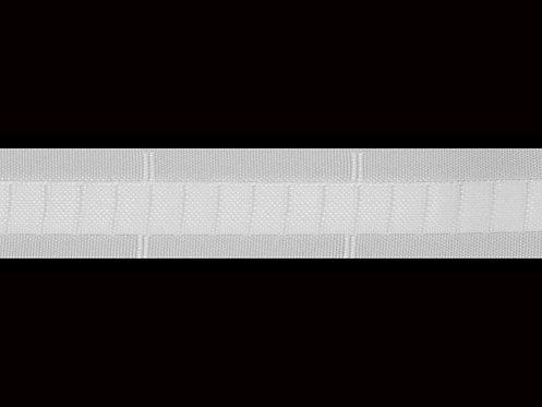 3133 Dikey Büzgü Şeridi / Beyaz