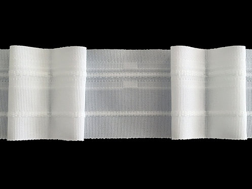3093 Box Pleats Curtain Tapes / White