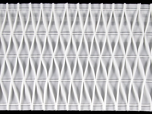 4140 Nest Pleats Curtain Tapes / White